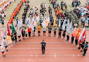 校慶活動-各系所旗幟